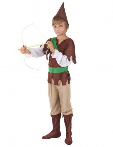 Costume da bandito dei boschi per bambino-1