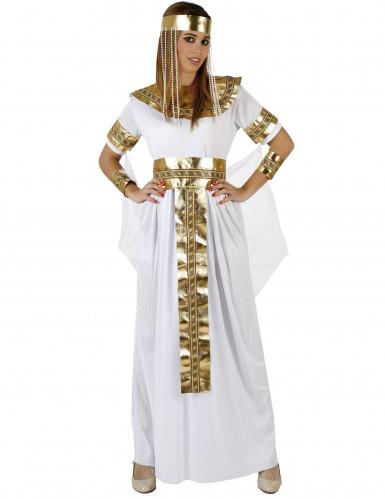 Costume regina dorata d'Egitto donna