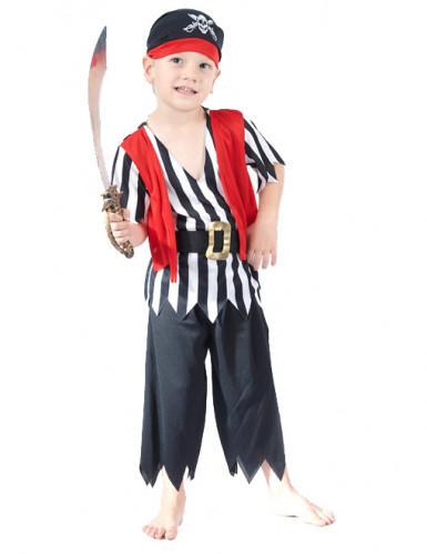 Costume da mozzo pirata per bambino