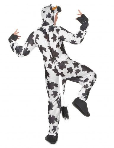 Costume da mucca con mammelle adulto-2