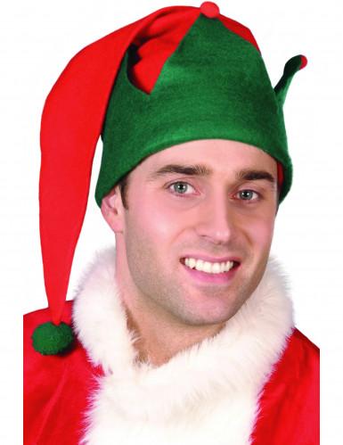 Berretto da elfo di Natale adulto