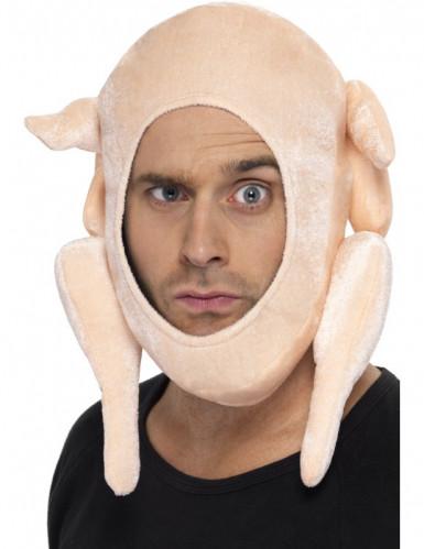 Cappello tacchino farcito di Natale adulto