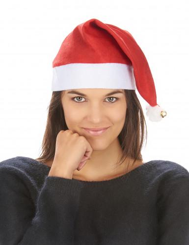Berretto di Natale con sonaglio per adulto-2