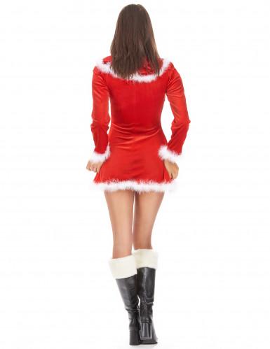 Costume Mamma Natale corto e sexy donna-2