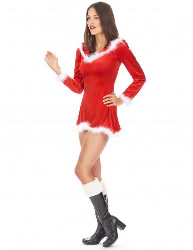 Costume Mamma Natale corto e sexy donna-1