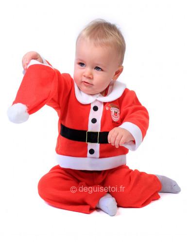 Costume Babbo Natale bebé