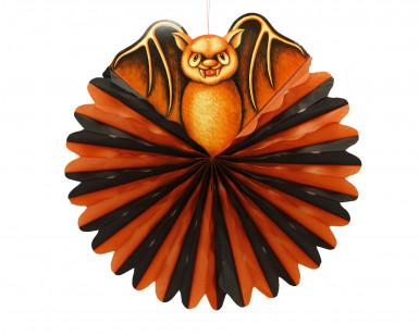 Sfera decorativa pipistrelli Halloween