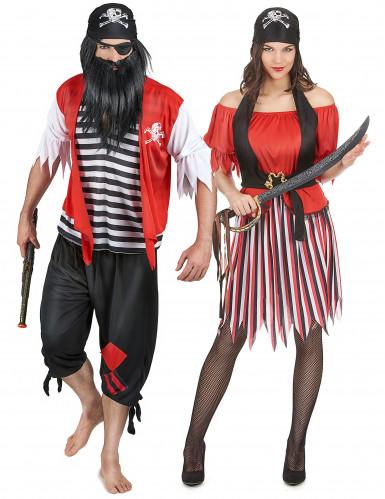 Costume coppia da pirata