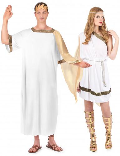 Costume coppia romano