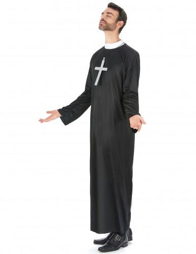 Costume di coppia di religiosi prete e suora -1