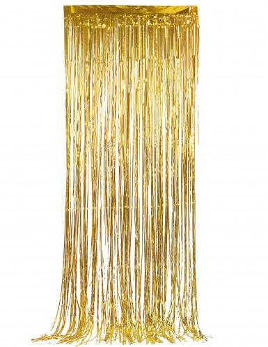 Tenda scintillante oro