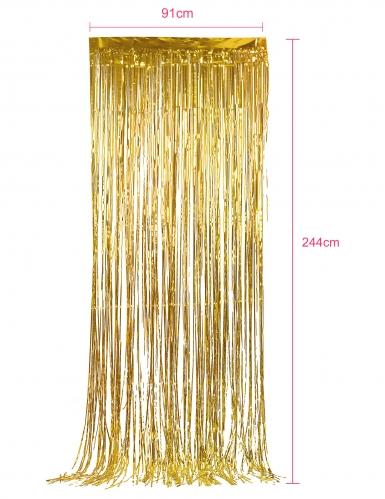 Tenda scintillante oro-1