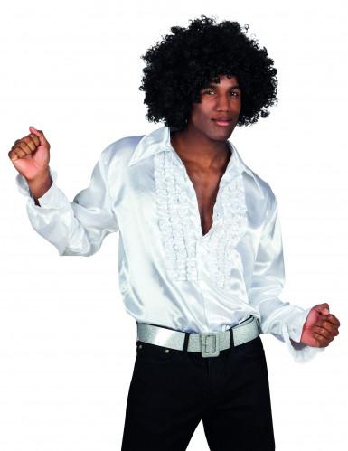 Camicia disco uomo bianca