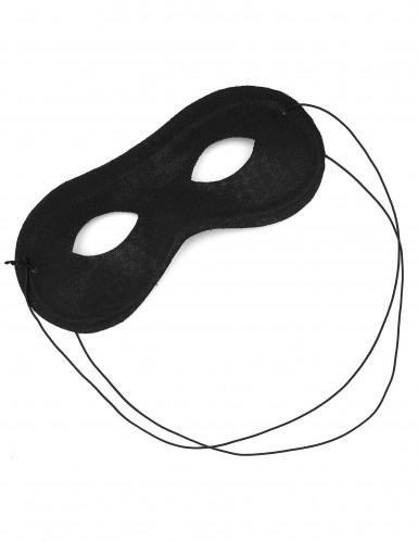 Mascherina nera per adulti-1