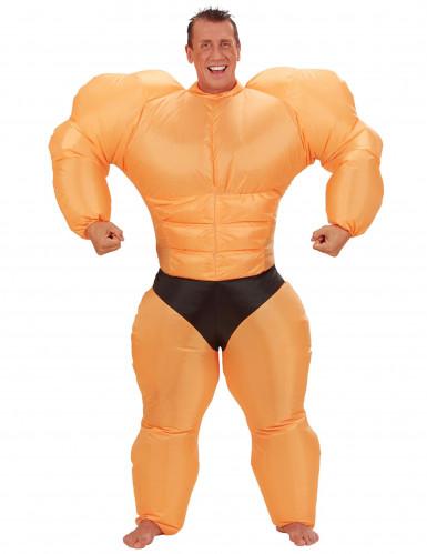 Costume gonfiabile da body builder adulto