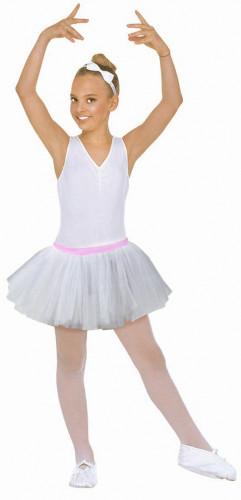 Tutu bianco ballerina bambina
