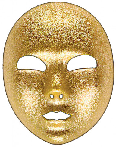 Maschera oro adulti