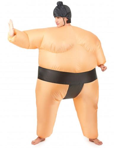 Costume gonfiabile da lottatore di sumo da adulto-1