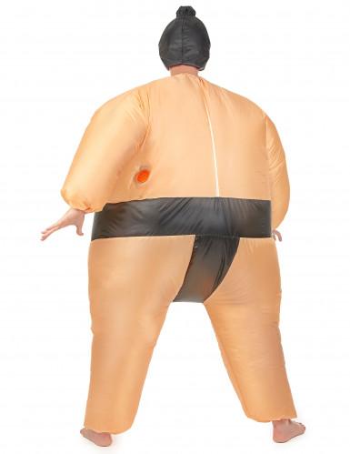 Costume gonfiabile da lottatore di sumo da adulto-2