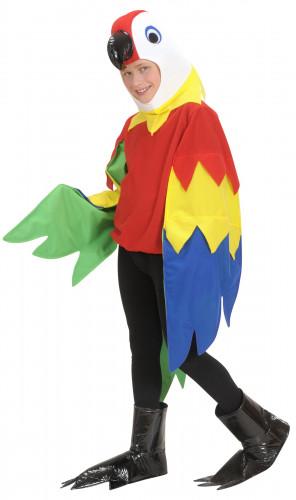 Costume da pappagallo per bambino
