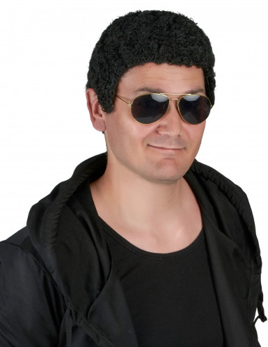 Parrucca afro uomo