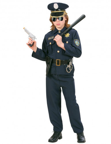 Costume poliziotto severo per bambino-1