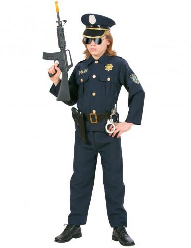 Costume poliziotto severo per bambino-2