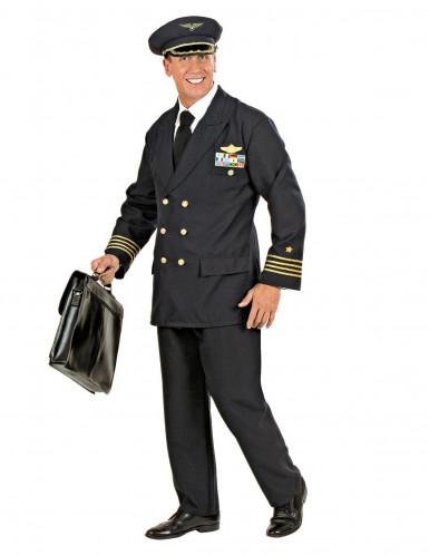Costume da pilota aeronautico da uomo