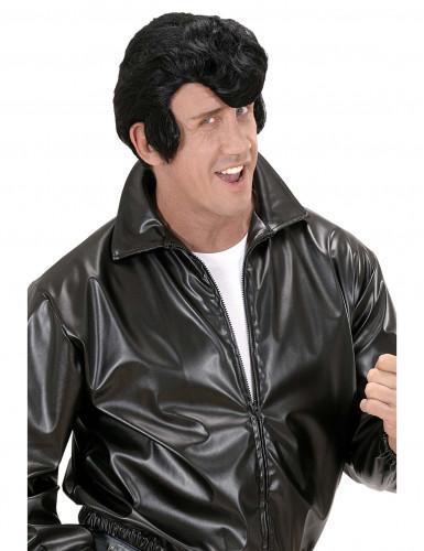 Parrucca nera danny uomo