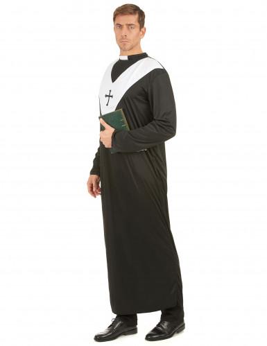 Costume tunica da prete per uomo-1