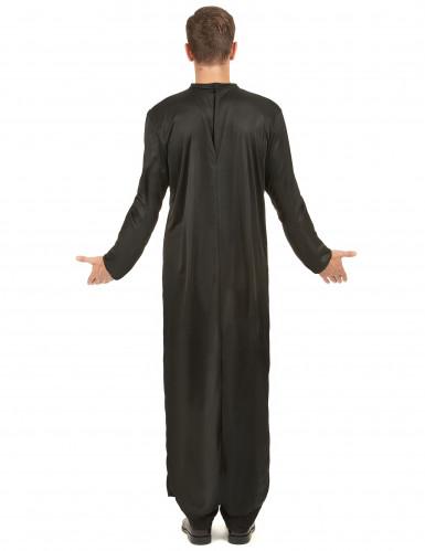 Costume tunica da prete per uomo-2