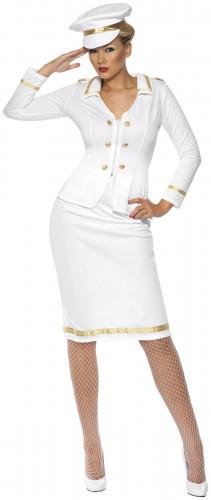 Costume ufficiale bianco donna