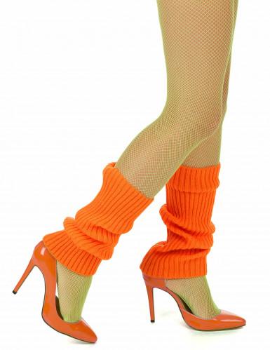 Scaldamuscoli arancioni per donna