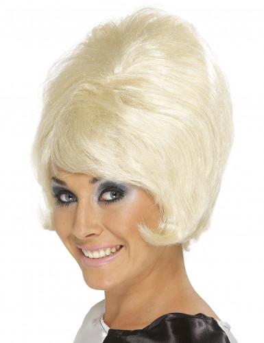 Parrucca bionda alveare donna