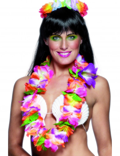 Collana colori vivaci Hawaii