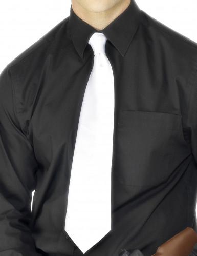 Cravatta bianca gangster