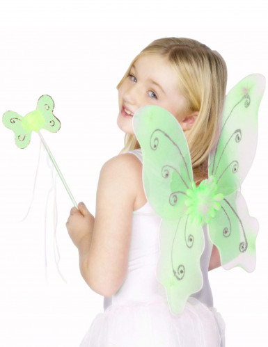 Kit farfalla verde ragazza