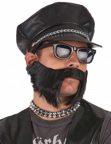 Cappellino motociclista uomo-1