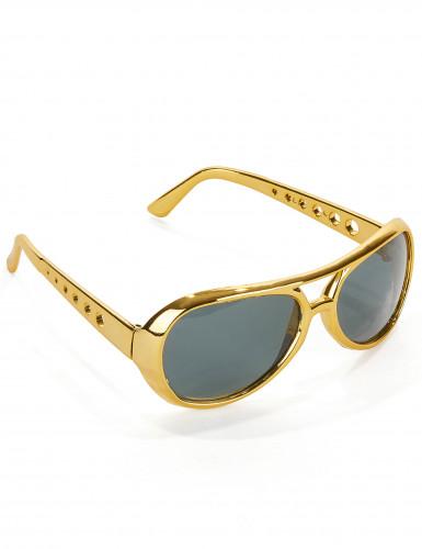 Occhiali Elvis™ dorati