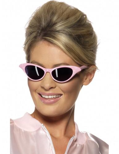 Occhiali rosa adulto
