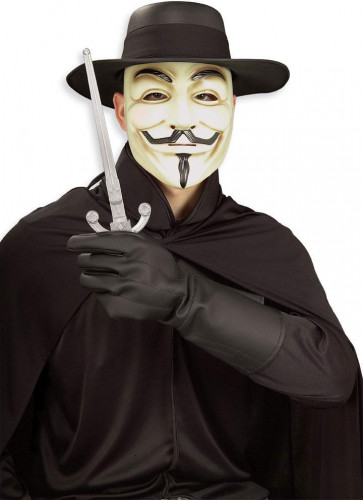 Kit di accessori da V per Vendetta™ per adulto
