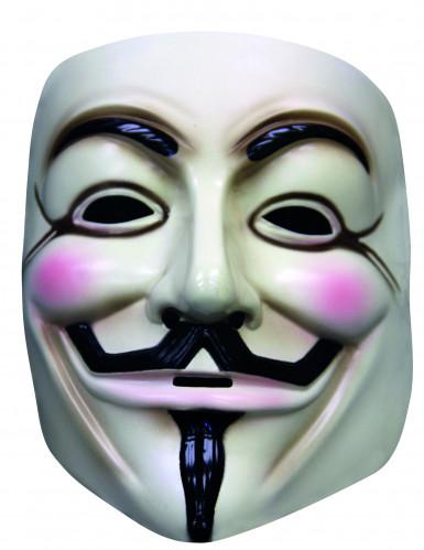 Maschera V per Vendetta™ per adulto