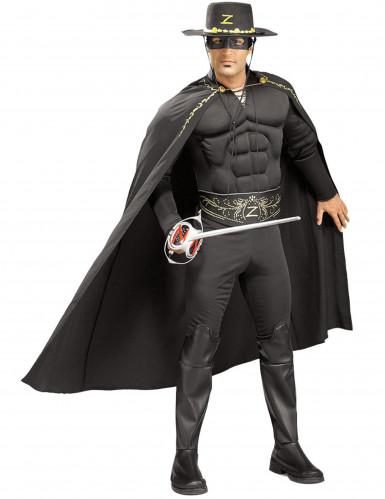 Costume Zorro™ muscoloso uomo