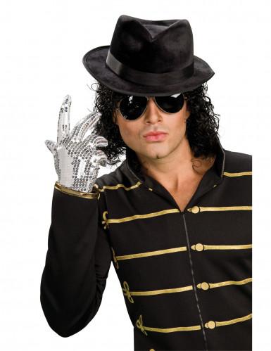 Guanto paillettato argento Michael Jackson™ adulto