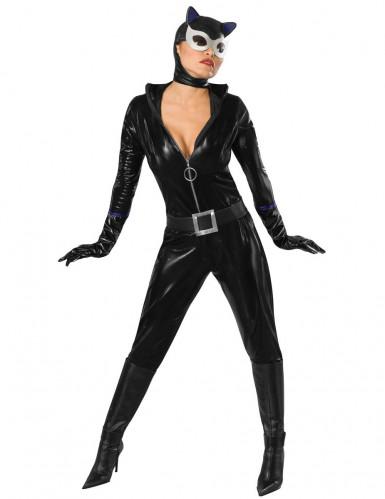 Costume Catwoman™ in finta pelle per donna