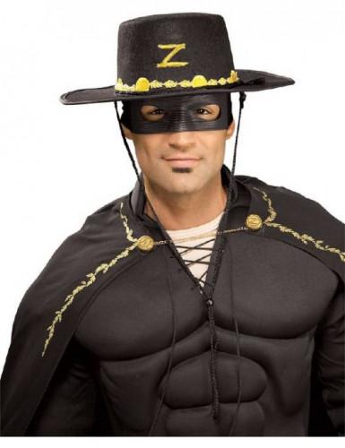 Cappello e maschera Zorro™ adulto