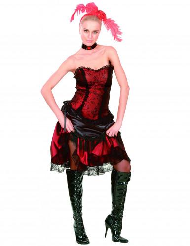 Costume cabaret saloon donna