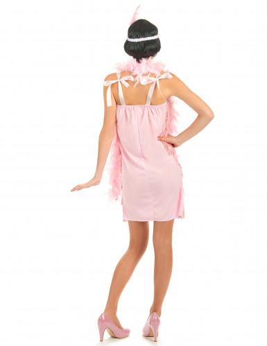 Costume anni '20 rosa charleston donna-2