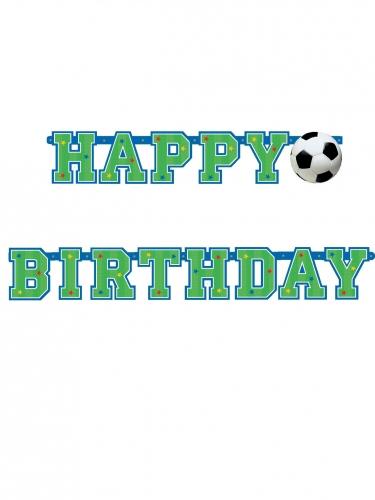 Banner happy birthday calcio