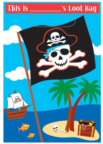 Sacchetto pirata gala